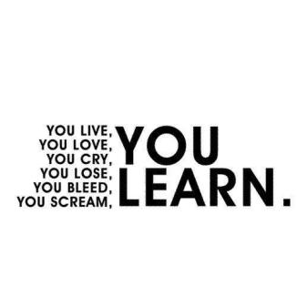 you-live-you-learn